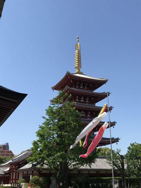 浅草寺_五重の塔