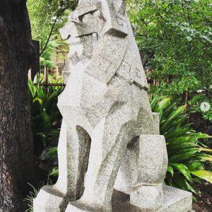 神社仏閣巡り_東郷神社_狛犬